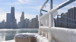Más frío que en la Antártida: una helada brutal congela parte de