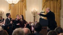 VÍDEO- La bronca nunca vista entre Trump y un periodista en la Casa