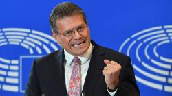 El eslovaco Sefcovic se postula formalmente para ser el candidato de los socialistas a presidente de la