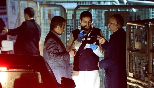 Forenses turcos buscan en una furgoneta del consulado saudí pistas sobre