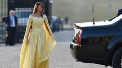 Comparan a Melania Trump con una princesa de