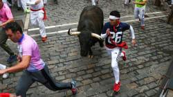 Vídeo San Fermín: el séptimo encierro deja un herido por asta de