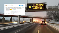La neige en Île-de-France offre à la ministre des Transports un soutien