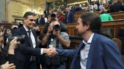 Pedro Sánchez y Pablo Iglesias: reunión privada en Moncloa para discutir iniciativas
