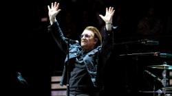 Bono, en el concierto de U2 en Madrid: