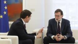 Rivera pide a Rajoy extender el 155 en