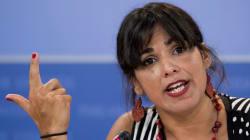 Teresa Rodríguez se acuerda de Dios tras la detención de Willy