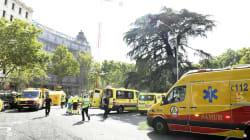 Un muerto y 11 heridos en el derrumbe en las obras del hotel Ritz de