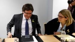 El Constitucional suspende la ley para investir a Puigdemont a