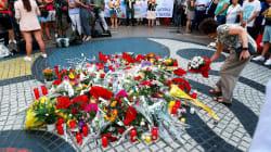 Homenaje a las víctimas del atentado en Barcelona y