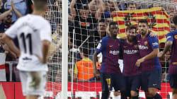 El Barça desmantela al Huesca y mantiene el liderato
