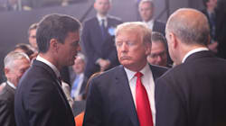El hilo de Twitter sobre la foto de Sánchez y Trump que debes