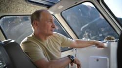 📷 Los vacaciones de Putin a lo 'Indiana