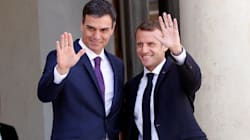 Pedro Sánchez se reúne con Emmanuel Macron en el