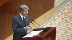 Ángel Garrido, investido presidente de Madrid con el apoyo de