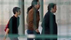 Iglesias, ya en la cárcel de Lledoners para reunirse con