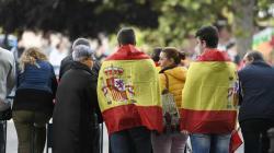 Los reyes presiden el primer desfile del 12 de octubre del Gobierno de