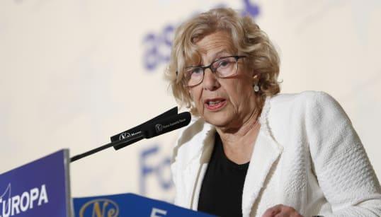 Manuela Carmena, hospitalizada tras sufrir una caída en su