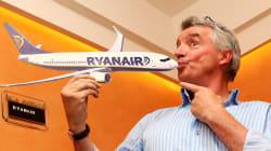 Ryanair amplía las cancelaciones de vuelos a