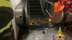 Un escalier roulant complètement fou à