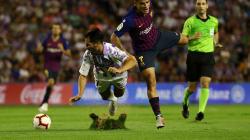 La Liga expedienta al Valladolid por el estado del césped en el partido contra el