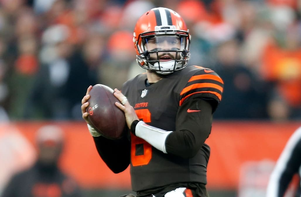 Baker Mayfield fined $10,026 for lewd gesture during