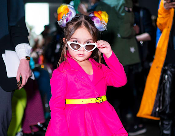 This 5-year-old won New York Fashion Week