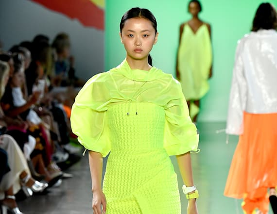NYFW trend report: Neon is about to be everywhere
