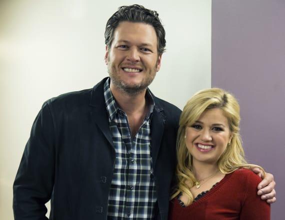 Kelly Clarkson gave Blake Shelton this NSFW advice