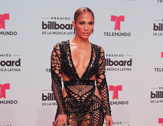 J.Lo and Mick Jagger's ex, step out in similar dress