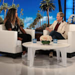 Naomi Osaka Tells Ellen DeGeneres What Serena Williams Whispered To