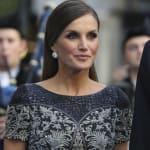 Letizia derrocha personalidad con su 'look' en los Princesa de Asturias