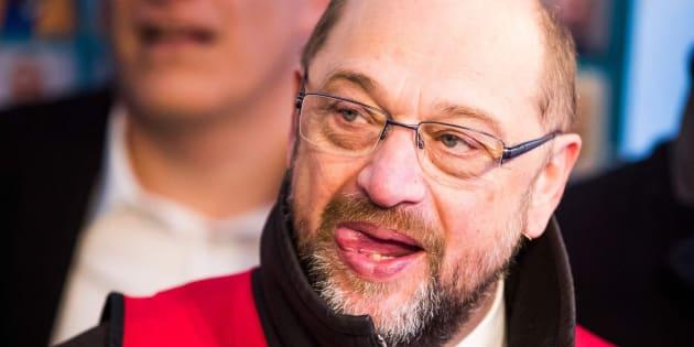 Imagen de archivo del líder del SPD, Martin Schulz.