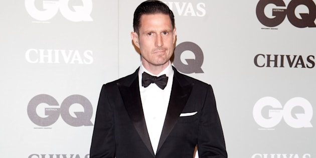 Wil Anderson was arrested on a flight to Wagga Wagga.