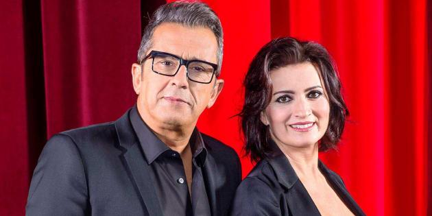 Andreu Buenafuente y Silvia Abril, presentadores de la 33ª edición de los Goya.
