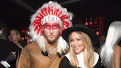 Hilary Duff And Boyfriend Offend With Racist Pilgrim And Native American