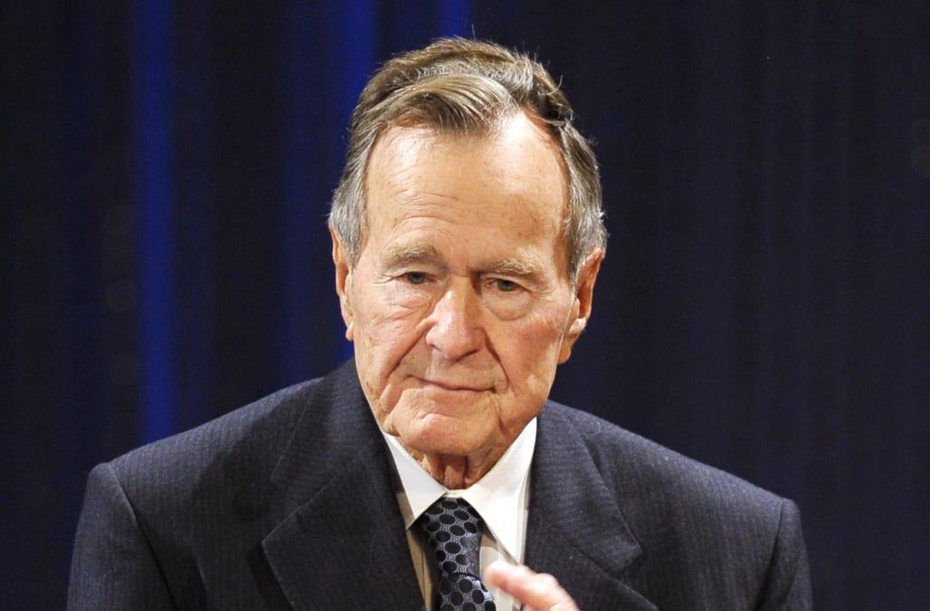 former president george h w bush dies at age 94 aol news