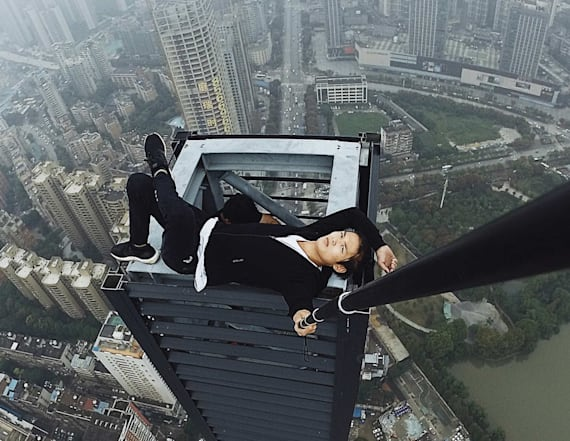 Daredevil 'rooftopper' plunges to his death