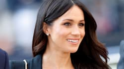 This White Sneaker Is One Of Meghan Markle's Style