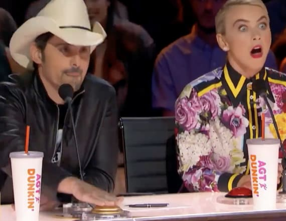Brad Paisley slams Golden Buzzer for bullied teen