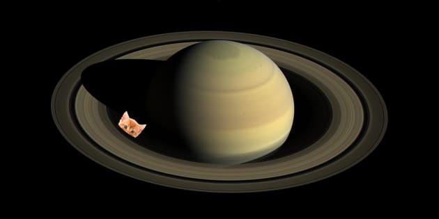 """Cassini a découvert 60  """"chatons"""" autour de Saturne en 13 ans"""