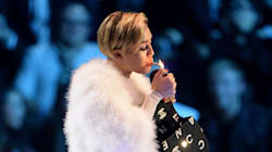 Watch A 'Too Stoned' Miley Cyrus Serenade Bill