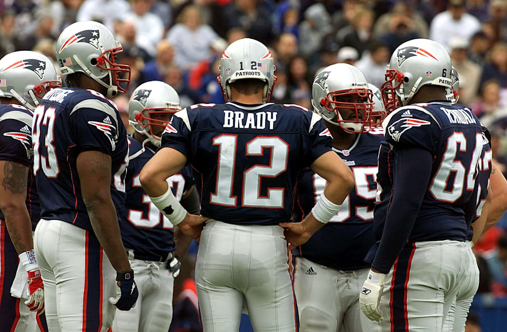 d1edb5785 WHERE ARE THEY NOW  Tom Brady s teammates on his first Super Bowl team