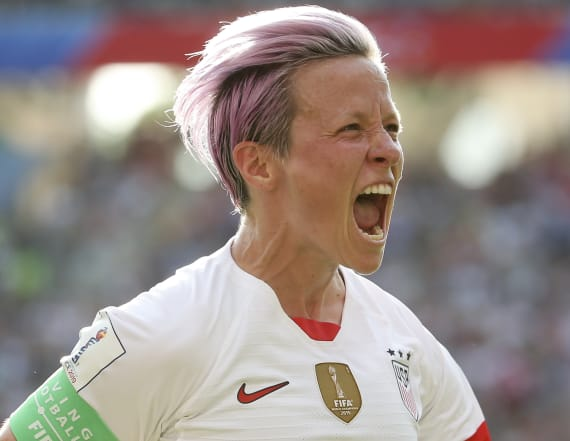 Rapinoe hopes France match is a 's--tshow circus'