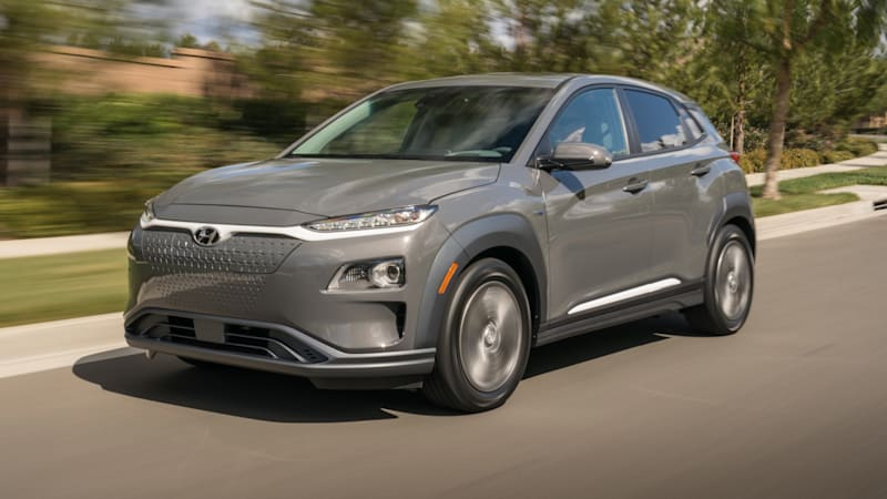 2019 Hyundai Kona Electric range officially EPA-rated at 258 miles