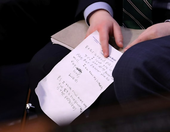 William Barr's grandson writes him touching notes