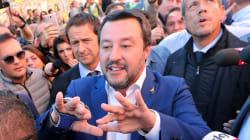Matteo Salvini a San Lorenzo dove è stata uccisa Desiree: