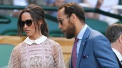 Pippa Middleton a arboré une robe tout en transparence à