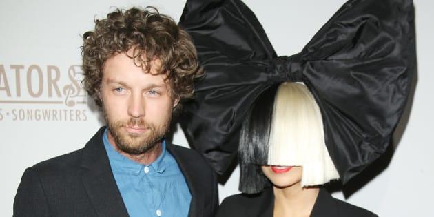 Sia and husband Erik Anders Lang are separating.