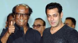 Salman Khan Crashes Rajinikanth's '2.0' Launch Just To Meet And Greet His